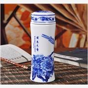 供应景泓陶瓷dfe5298陶瓷保温杯定制批发  健康tao