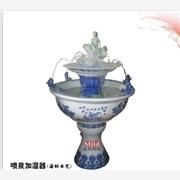 景德镇陶瓷落地大缸 室内陶瓷装饰喷泉