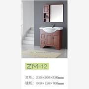 供应百惠12潮州实木浴室柜厂家