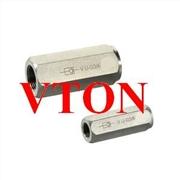 供应美国威盾VTON进口小口径不锈钢止回阀