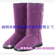 供应女靴用超纤皮革1.2MM