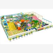 供应143平方缤纷系列淘气堡儿童乐园电动玩具尚派儿品牌