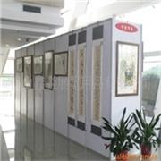 供应百色市生产展会展板技术 生产八棱柱喷绘展板