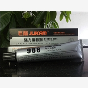 供应巨箭G-988硅胶粘铝合金专用粘合剂,硅胶粘不锈钢胶水