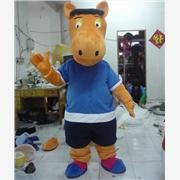 供应 GZ-007订做卡通人偶表演服装动物服装马