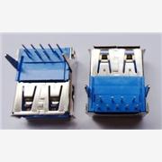 供应USB3.0AF90DIP插板单层