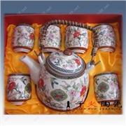 供应景德镇陶瓷茶具  景德镇茶具定做 礼品茶具