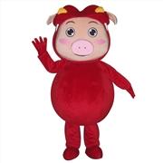 猪猪侠卡通人偶服装道具行走人偶定做婚庆道具服装企业吉祥物