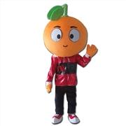 橙子吉祥物卡通人偶服装道具定做