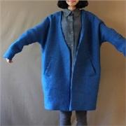 2014冬季爆款羊毛绒大衣外套时尚服装