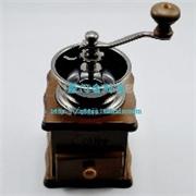 厦门奶茶原料原木手摇磨豆机 咖啡豆研磨机金时光 热卖中