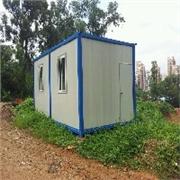 彩钢板房供应商 专业的厂家低价促销岩棉板活动房、彩钢板房