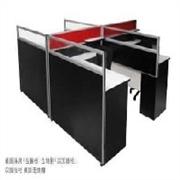 厦门办公屏风 厦门办公家具 钢脚组合办公桌屏风 屏风办公桌图
