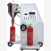 全自动干粉灭火器灌装机 自动灭火器灌装机 -消防设备