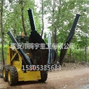 移树机3分钟连根挪树,移树机、挖坑机、移