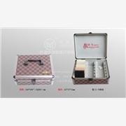 特别订做时尚新潮人造石样品盒/石英石样品盒,铝合金手提色卡盒