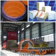 供应金石JSGW红砖砖窑隧道窑吊顶陶瓷纤维材料陶瓷纤维模块设计施工
