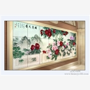 供应诺彩NC-UV2513电视背景墙印花机