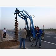 供应AAA挖坑机操作指南、视频演示 挖坑机厂家