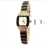 king girl-A9方形玫瑰金手链表高档女士女款手表