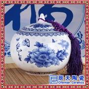 供应辰天陶瓷11121供应定做陶瓷茶叶罐 高档礼品罐