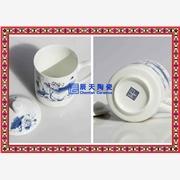 供应辰天陶瓷供应定做陶瓷茶杯 会议专用陶瓷杯