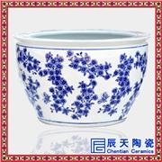 供应辰天陶瓷115222青花瓷大缸 高档大缸