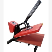 供应40*60  A3热转印机器平板烫画机欧美高压机厂家直销