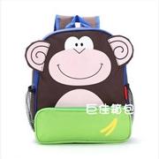 供应巨佳936小中大班书包定制动物书包定做幼儿园培训班背包