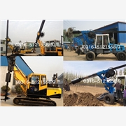 供应挖掘机螺旋钻孔机 挖掘机式挖坑机 挖掘机挖坑机