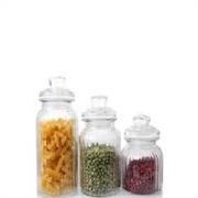 琳琅玻璃制品公司供应报价合理的玻璃储物罐茶叶糖果罐 厨房调味瓶