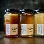 琳琅玻璃制品公司供应精品罐果酱罐子酱菜瓶六棱玻璃瓶茶叶罐蜂蜜瓶
