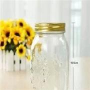 琳琅玻璃制品公司供应精品雕花密封罐储物罐果酱瓶干果罐蜂蜜瓶酱菜瓶