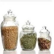 琳琅玻璃制品公司供应报价合理的玻璃密封罐储物罐腌菜缸厨房收纳瓶罐子容器