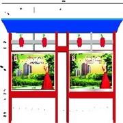 郑州市区域专业的不锈钢宣传栏|河南不锈钢信息栏