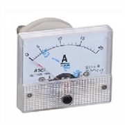 安装式板表 85C1-A DC安培指针表头/ 直流电流