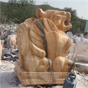 甘肃石雕动物 买奇特的石雕貔貅,就到启信雕刻厂