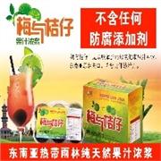 梅与桔仔 无添加剂的进口饮料 特色餐厅奶茶店ktv商超均可销