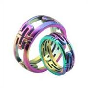 广东省可靠的不锈钢戒指幻彩电镀加工公司