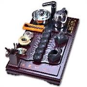 泉州实木电磁炉茶盘加工厂,泉州茶中居茶具是首选 进口高强化实木电磁炉茶盘价格范围