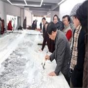 山东当代名画:济南市最优惠的黄河万里图