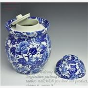 供应礼品陶瓷罐子定做  景德镇陶瓷罐子厂