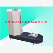 行李薄膜裹包机8广东钢丝缠绕机d水平式缠绕机塑钢带打包机
