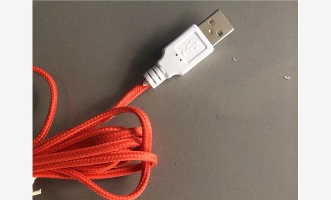 USB编织线