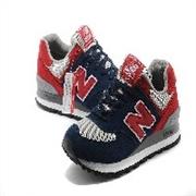 猪巴革新百伦美国队长US574M1男女跑鞋蓝色