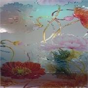 锦利来艺术玻璃冰晶画培训5:玻璃制品,艺术玻璃的选购方法
