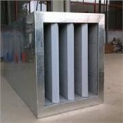 奉贤空调消声器,德州市质量硬的折板式消声器