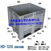 洛阳塑料卡板箱◆塑料托盘厂家◆洛阳都程塑料有限公司
