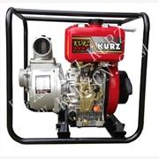 供应库兹KURZ KZ20DHP2寸小型柴油高压消防水泵