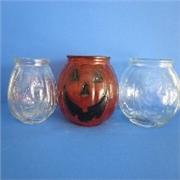 玻璃烛台,鬼脸烛台,灌炷罐,玻璃瓶
